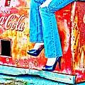 Coca-cola And Stiletto Heels by Toni Hopper
