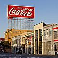 Coca Cola Billboard - San Francisco, California Usa by B Christopher