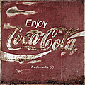 Coca Cola Faded Sign by John Stephens