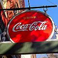 Coca Cola Sign In Georgia by Denise Mazzocco