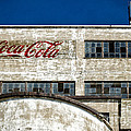 Coca Cola Sign On Old Factory by Les Palenik