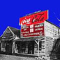 Coca-cola  Sign Palace Cafe Sumter South Carolina 1912-2013   by David Lee Guss