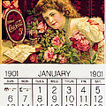 Coca - Cola Vintage Calendar by Gianfranco Weiss