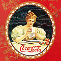Coca - Cola Vintage Poster Calendar by Gianfranco Weiss