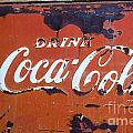Cocacola Ice Box by Norma Warden