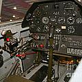 Cockpit Of A P-40e Warhawk by Scott Germain