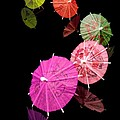 Cocktail Umbrellas Xii by Tom Mc Nemar