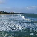 Cocoa Beach Seascape by Jennifer White