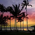 Coconut Island Sunset - Hawaii by Daniel Hagerman