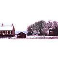 Codori Farm At Gettysburg In Winter by Bill Cannon