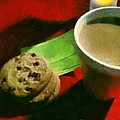 Coffee And Cookies At The Cafe by RC DeWinter