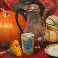 Coffee And Pumpkin Pie by Sandra Collins