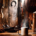 Coffee At The Cabin by Olivier Le Queinec