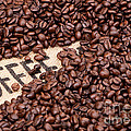 Coffee Beans by Rick Piper Photography