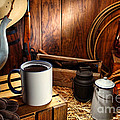 Coffee Break At The Chuck Wagon by Olivier Le Queinec