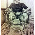Coffee Break by R Muirhead Art