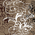 Coffee Flowers 1 by Angelina Vick