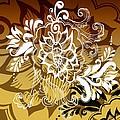 Coffee Flowers 10 Calypso by Angelina Vick
