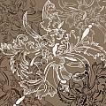 Coffee Flowers 11 by Angelina Vick