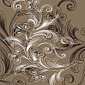 Coffee Flowers 4 by Angelina Vick