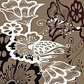 Coffee Flowers 9 by Angelina Vick