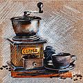 Coffee Grinder by Daliana Pacuraru
