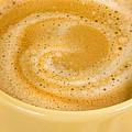 Coffee In Yellow by Iris Richardson