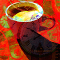 Coffee Time My Time 5d24472m12 by Wingsdomain Art and Photography