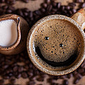 Coffee With A Smile by Aaron Aldrich