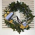 Coffee Wreath by Sally Weigand