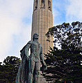 Coit Tower -1 by Tommy Anderson