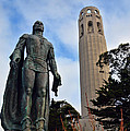 Coit Tower -2 by Tommy Anderson