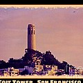 Coit Tower Poster by John Malone