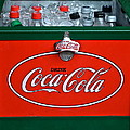 Coke Cooler by Frozen in Time Fine Art Photography