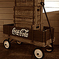 Coke Wagon by David Lee Thompson