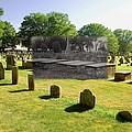 Col. Benjamin Church And Elisabeth Pabodie Gravesites In Little Compton Ri by Jeff Hayden