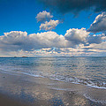 Cold And Windy Beach Day by Brian MacLean