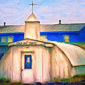 Cold Bay Chapel by Michael Pickett