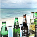 Cold Beers In Paradise by Joan  Minchak