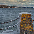 Cold Day On Superior by Paul Freidlund