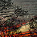 Cold Front Sunset by Scott Hafer