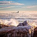 Cold Morning Lighthouse by Jeff Sinon