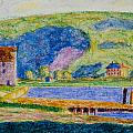 Cold Spring Harbor by Oscar Bluemner