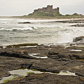 Cold Waves Of Northumberland by Elena Perelman