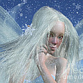 Cold Winter Fairy Portrait by Fairy Fantasies