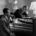 Cole Porter And Moss Hart At A Piano by Lusha Nelson