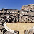 Coliseum . Rome by Bernard Jaubert