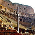 Colisseum Cross by Judith Cahill