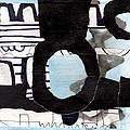 Collage Drawing One by Richard Allen
