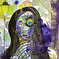 Collage Girl by Russ Cahn